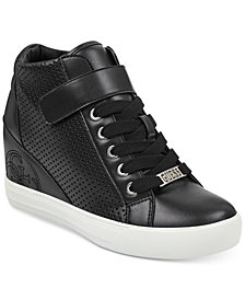 GUESS Women's Decia Wedge Sneakers