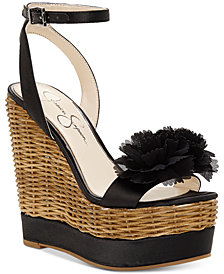 Jessica Simpson Pressa Wedge Sandals