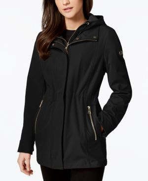 LAYERED SOFTSHELL COAT