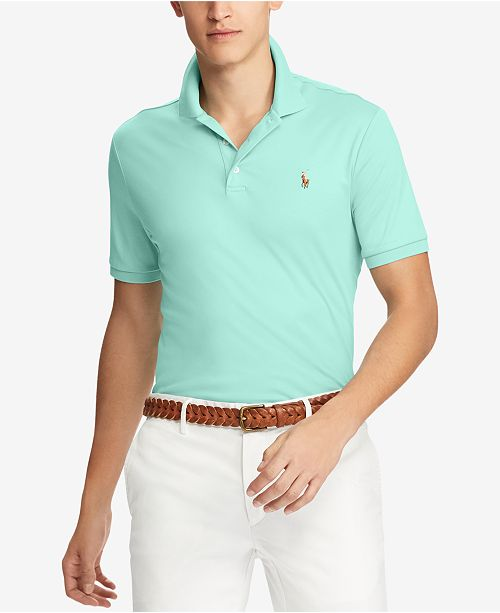 a93b7ee9 Polo Ralph Lauren Men's Big & Tall Classic Fit Mesh Polo & Reviews ...