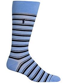 Polo Ralph Lauren Men's Mercerized Striped Socks