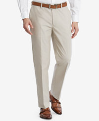 Tommy Hilfiger Men's Modern-Fit Flex Stretch Tan Suit Pants