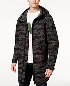 G-Star Men's Strett Camo Parka Jacket, Created for Macy's