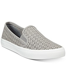 Women's Seaside Perforated Slip-On Sneakers, Created for Macy's