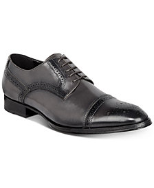 Tallia Men's Bonito Cap-Toe Oxfords