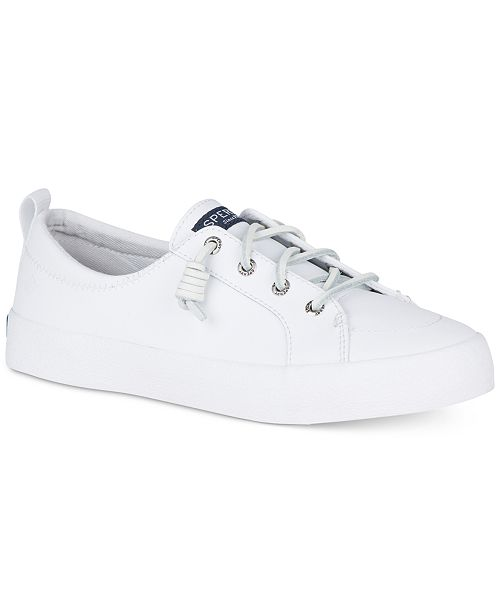 5a9d0414cb5bb Women's Crest Vibe Leather Sneakers, Created for Macy's