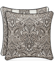 "J Queen New York Chancellor 20"" Square Decorative Pillow"