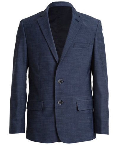 Calvin Klein Plain-Weave Jacket, Big Boys