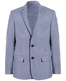 Calvin Klein Striated Sharkskin Jacket, Big Boys