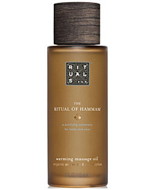 RITUALS The Ritual Of Hammam Warming Massage Oil, 3.3-oz.
