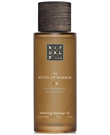 RITUALS The Ritual Of Hammam Warming Massage Oil, 3.3-oz.