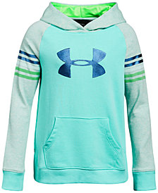 Under Armour Graphic-Print Terry Hoodie, Big Girls
