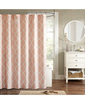Madison Park Merritt 72 X 72 Fretwork Print Shower Curtain