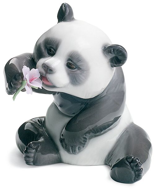 Lladro Lladro Collectible Figurine, A Cheerful Panda