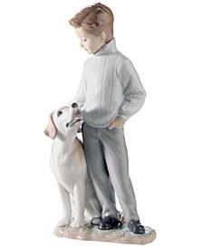 Lladro Collectible Figurine, My Loyal Friend
