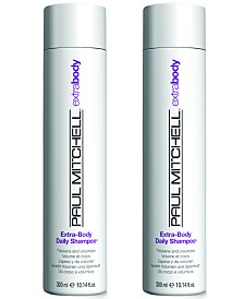 Paul Mitchell Extra-Body Daily Shampoo Duo (Two Items), 10.14-oz., from PUREBEAUTY Salon & Spa