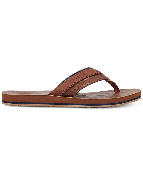 507b565aa8c6c0 Tommy Hilfiger Men s Dilly Thong Sandals   Reviews - All Men s Shoes ...