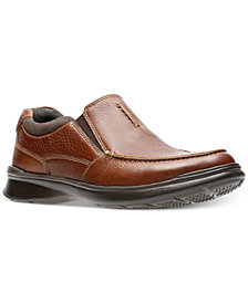 Clarks Men's Cotrell Free Leather Slip-Ons