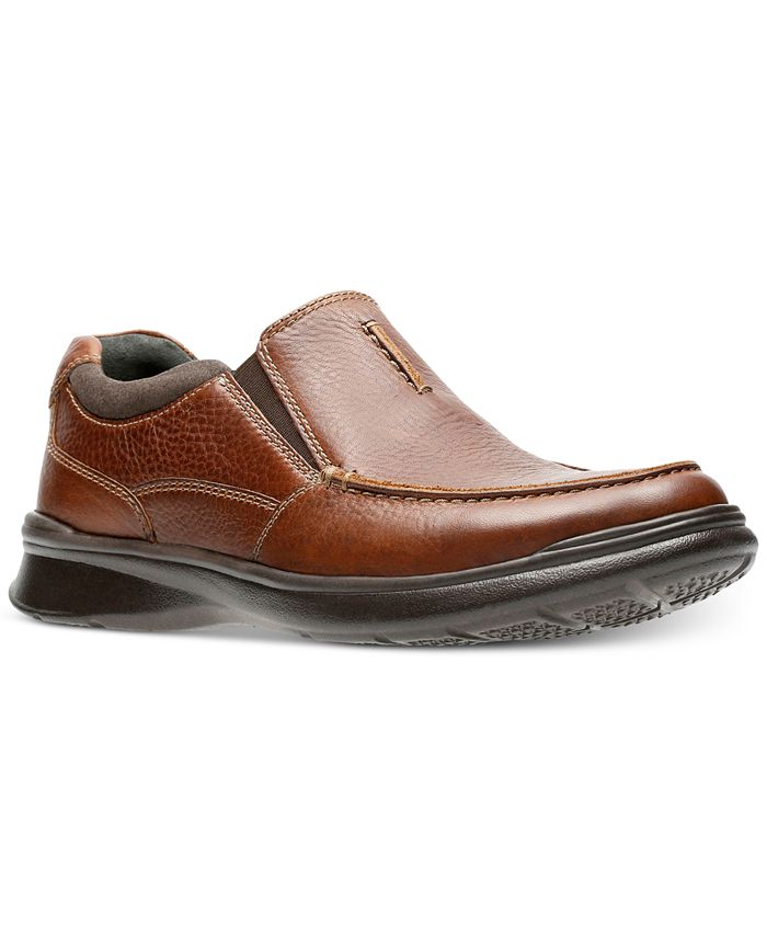 Clarks - Men's Cotrell Free Leather Slip-Ons