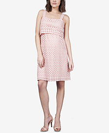 Seraphine Maternity Embroidered Dress