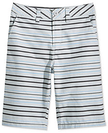 Univibe Bridgeport Striped Cotton Shorts, Big Boys