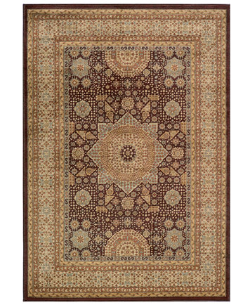 Image 1 Of Closeout Momeni Area Rug Belmont Be 03 Brown 3