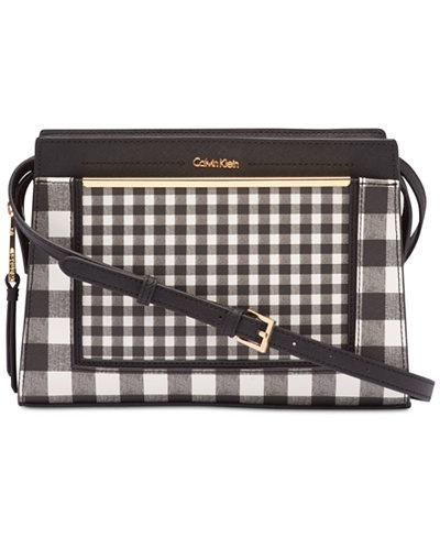Calvin Klein Cindy Leather Small Crossbody