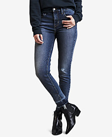 Levi's® 720 HyperSculpt High-Rise Super-Skinny Ripped Jeans