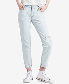 Levi's® 501® Cotton Ripped Tapered Jeans