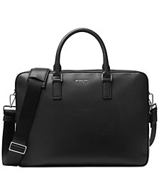 Michael Kors Men's Bryant Large Leather Briefcase