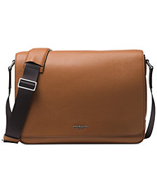 Michael Kors Men's Bryant Leather Messenger Bag