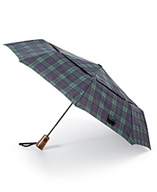 Plaid Folding Umbrella