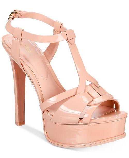 6b898153149 ALDO Chelly Platform Dress Sandals   Reviews - Sandals   Flip ...