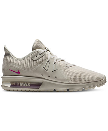 Image 1 of Nike Women's Air Max Sequent 3 LE Running Sneakers from Finish  Line