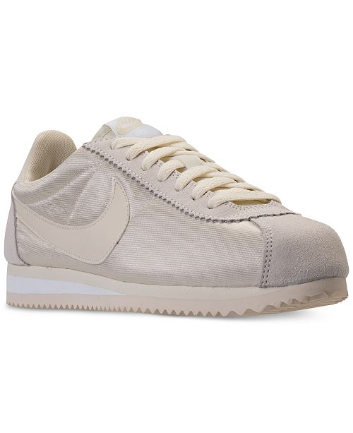 Nike Women s Classic Cortez Nylon Casual Sneakers from Finish Line ... ab059e8f3