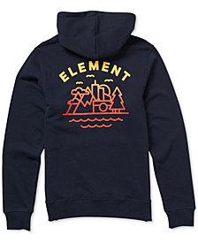 Element Men's Lens Logo-Print Hoodie