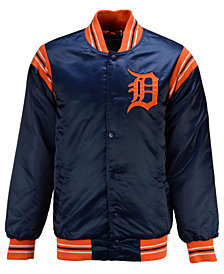 G-III Sports Men's Detroit Tigers Starter Legacy Satin Jacket