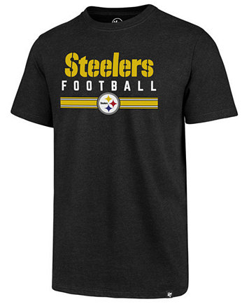 Image 1 of '47 Brand Men's Pittsburgh Steelers Cover 4 T-Shirt