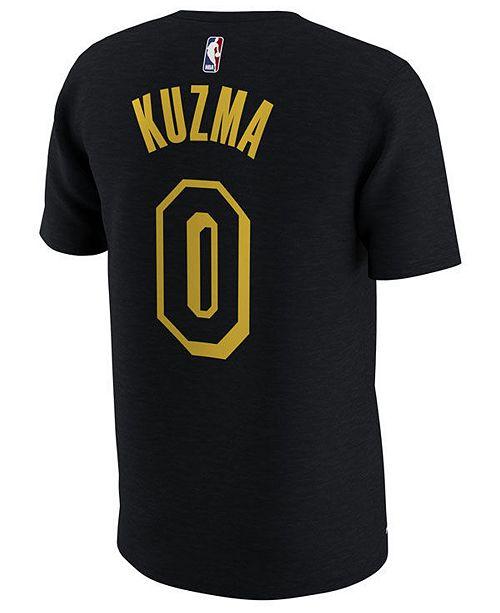 918001b2e Nike Men s Kyle Kuzma Los Angeles Lakers City Player T-Shirt ...