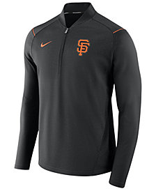 Nike Men's San Francisco Giants Dry Elite Half-Zip Pullover