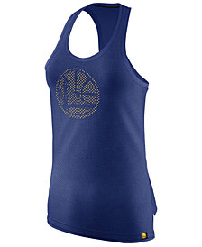 Nike Women's Golden State Warriors Mesh Basketball Tank