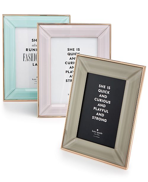 kate spade new york Charles Lane Frame Collection - Picture Frames ...