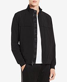 Calvin Klein Men's Logo-Print Track Jacket