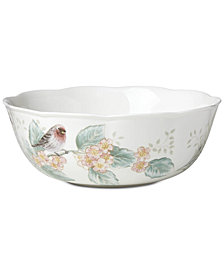 Lenox Butterfly Meadow Flutter Serving Bowl