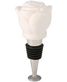 Porcelain Flower Bottle Stopper