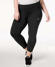 Nike Plus Size Epic Lux Cropped Compression Running Leggings