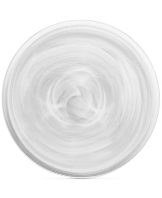 CLOSEOUT! Swirl Glass Platter, Created for Macy's