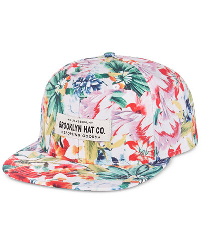 Woolrich Men's Brooklyn Hat Co. Tres Flores Printed Cap