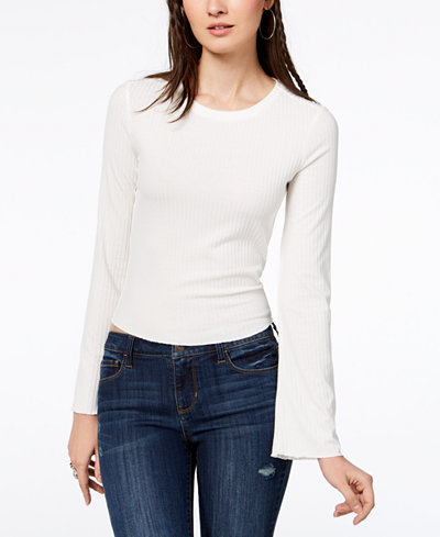 American Rag Juniors' Cutout-Back Top, Created for Macy's