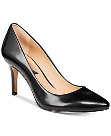 I.N.C. Women's Zitah Pointed Toe Pumps, Created for Macy's